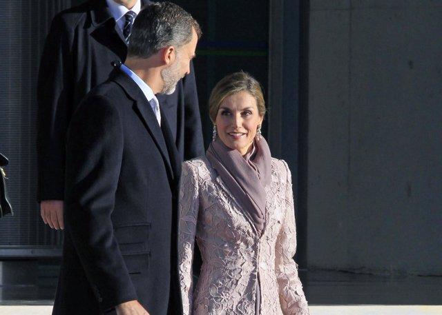 El Rey Felipe VI y la Reina Letizia/ JRH_