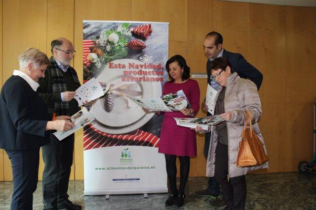 Presentación de la campaña 'Alimentos paraiso natural'