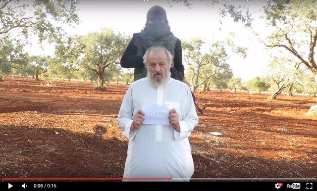 Rehén italiano secuestrado en Siria