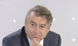 El presidente de RTVE agradece el premio otorgado por la subdelegación de Huelva