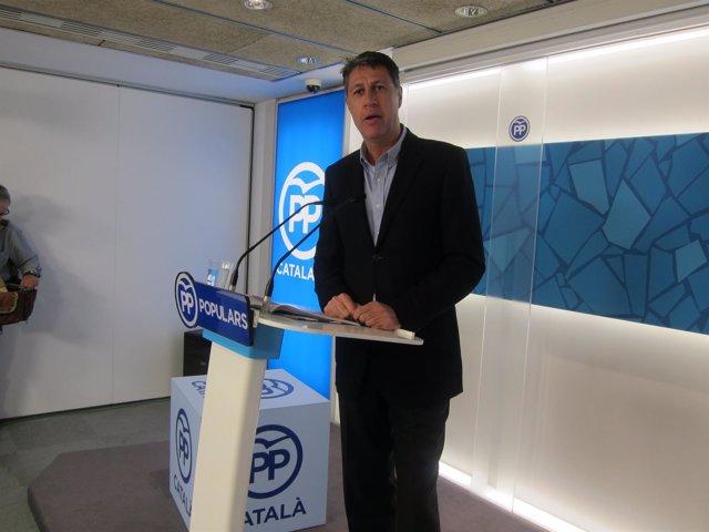 El coordinador del PP catalán, Xavier García Albiol