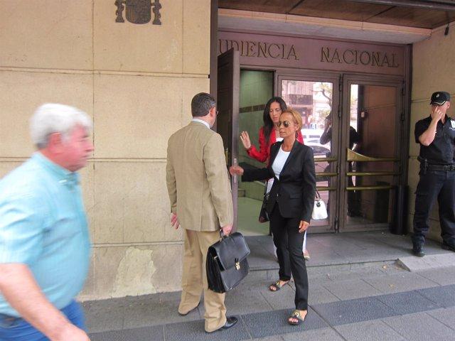 Carmen Rodríguez Quijano, declara en la AN