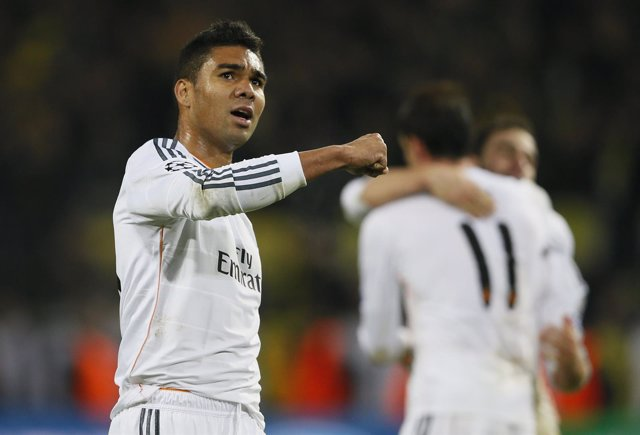 Casemiro, del Real Madrid