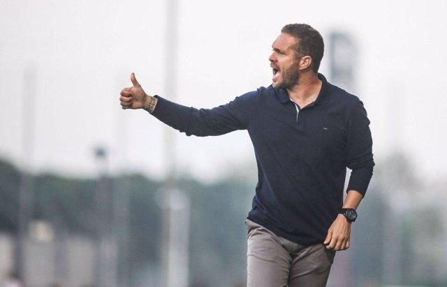 Luis García Tevenet, entrenador del Hércules