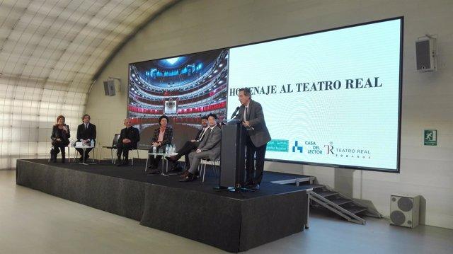 Celebración del 200 aniversario del Teatro Real de Madrid en la Casa del Lector