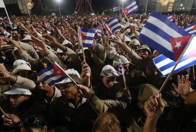 Líderes internacionales se despiden de Fidel Castro