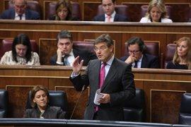 Catalá pide que no haya dudas sobre el compromiso del Gobierno contra la corrupción