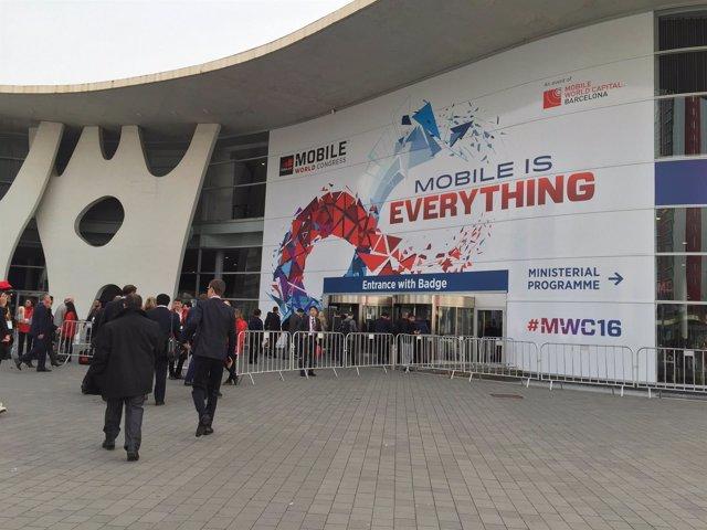 Mobile World Congress (MWC) en Fira de Barcelona