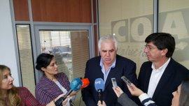 C's echa en falta que Susana Díaz consultara con los grupos sus propuestas para Bruselas