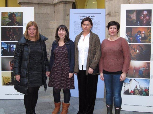 Presentación de la exposición de MSF en Gijón.