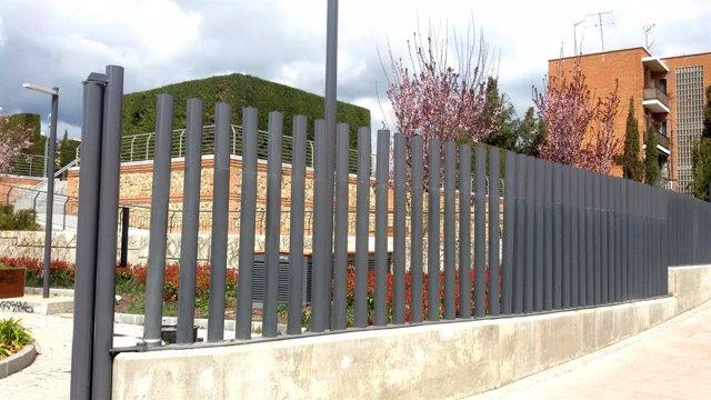 Parque donde muerte un Dominican en Alcobendas