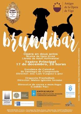 Ópera infantil en diciembre en Santiago y Vigo