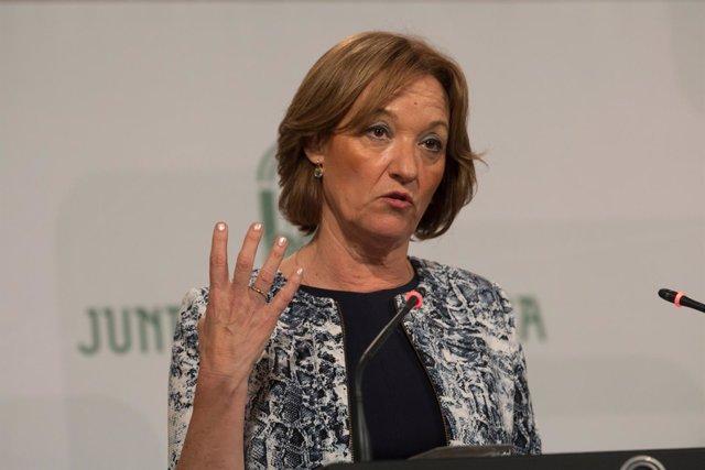 Carmen Ortiz, en Consejo de Gobierno andaluz