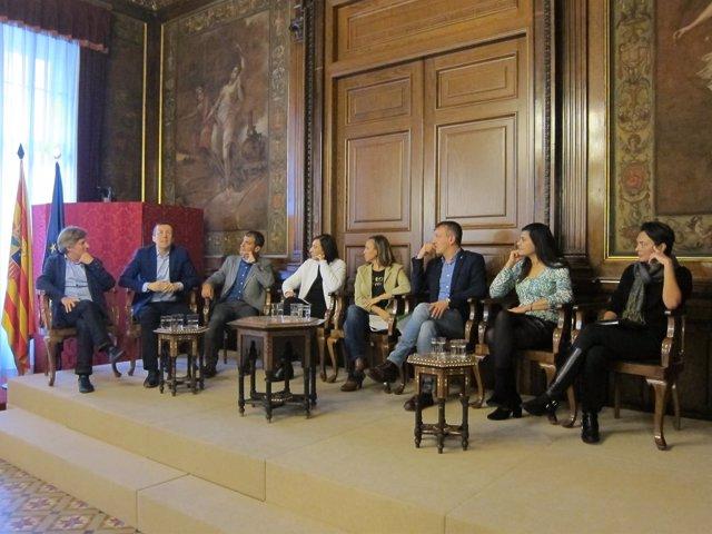 El DVD con los ocho trabajos se ha presentado en el Palacio de Sástago