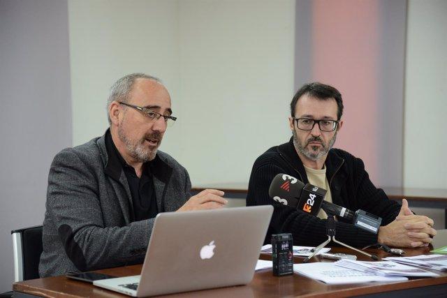 Ferran Suay y Toni Gisbert
