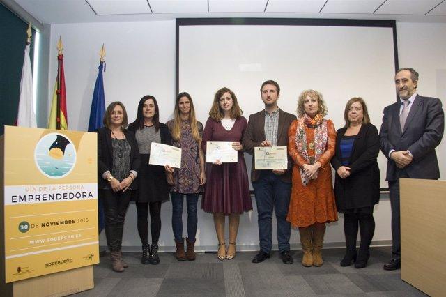 Entrega de premios del concurso de Sodercan