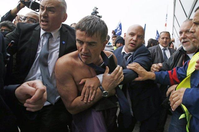 Xavier Broseta, uno de los directivos de Air France-KLM descamisados