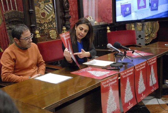Nota De Prensa Y Foto Campaña De Navidad Ayuntamiento De Granada