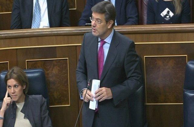 Catalá sobre el compromiso del Gobierno contra la corrupción