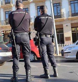 Policías nacionales seguridad turistas turismo