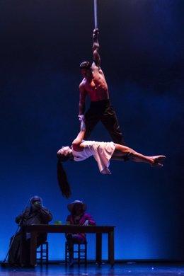 Espectáculo 'El Tren' de Circo Gran Fele