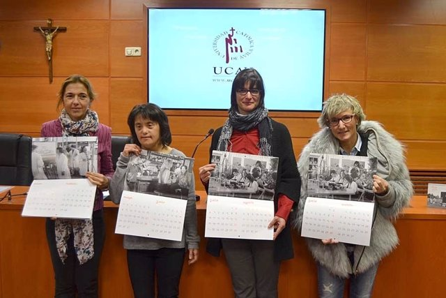 Presentación del nuevo calendario de Down Ávila.