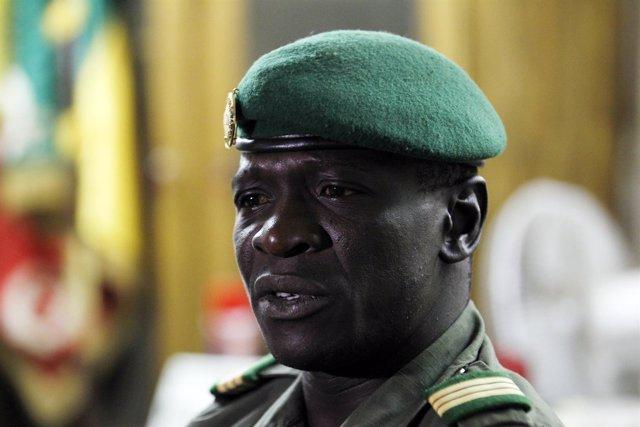 El líder del golpe de Estado que tuvo lugar en 2012 en Malí, Amadou Sanogo.