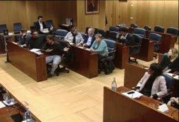 Captura de pantalla de la peineta del diputado de Podemos Jacinto Morano