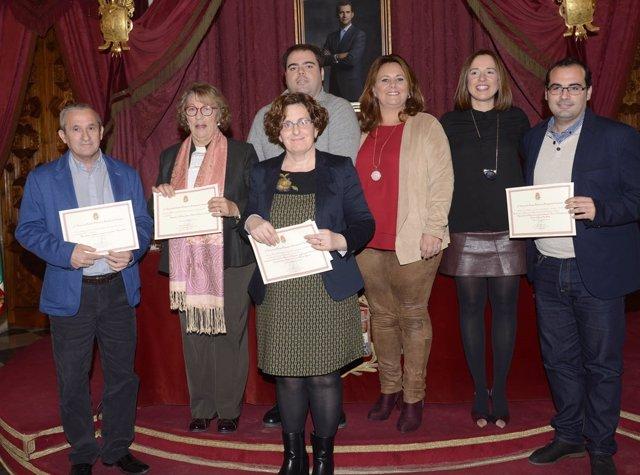 Premiados por Buenas Prácticas por la Diputación de Cádiz