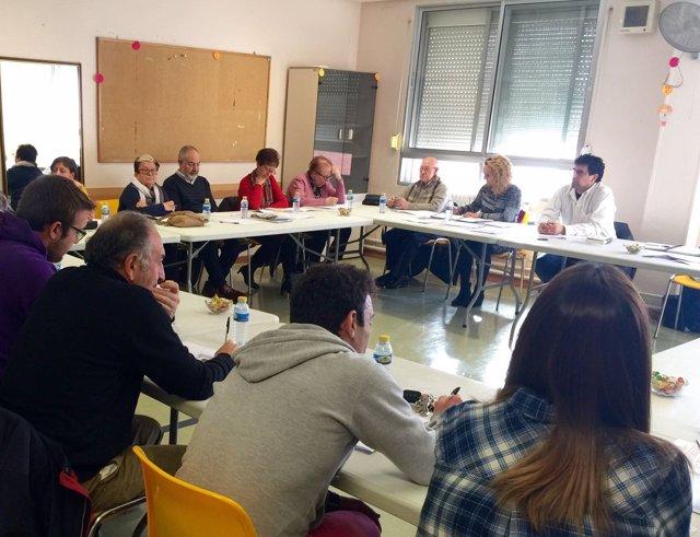 Reunión del Consejo del Centro Cívico de La Victoria