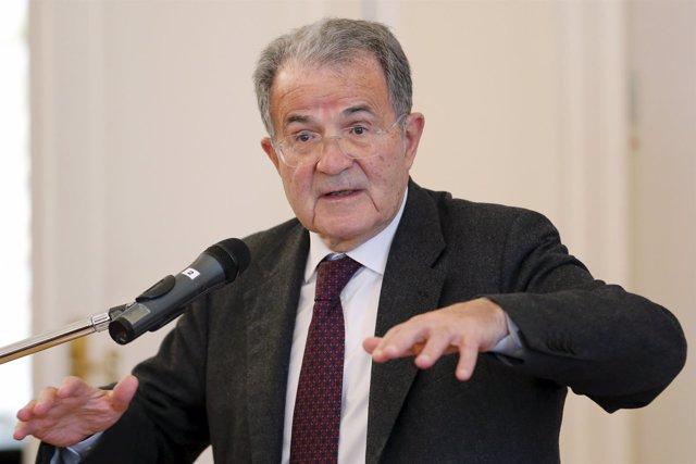 Romani Prodi, ex primer ministro de Italia