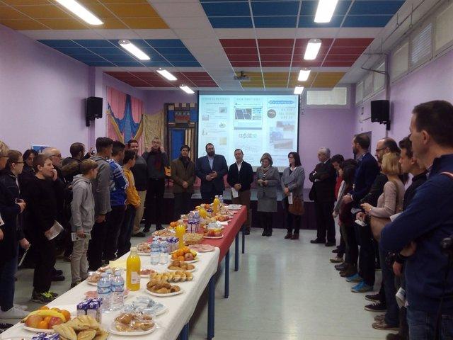 Encuentro de estudiantes Erasmus por la energía solar