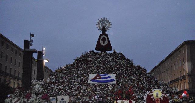 Más de 235.000 personas han participado en la Ofrenda a la Virgen del Pilar 2016