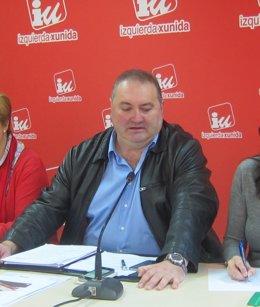 E coordinador general de IU Asturias, Ramón Argüelles.