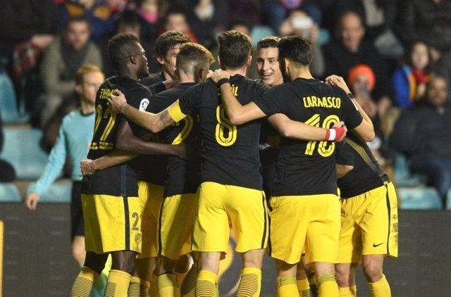 El Atlético de Madrid vence al Guijuelo en Copa del Rey