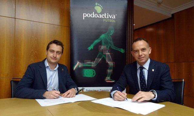 Np: Renovación Real Zaragoza Y Podoactiva Temporada 2016/2017