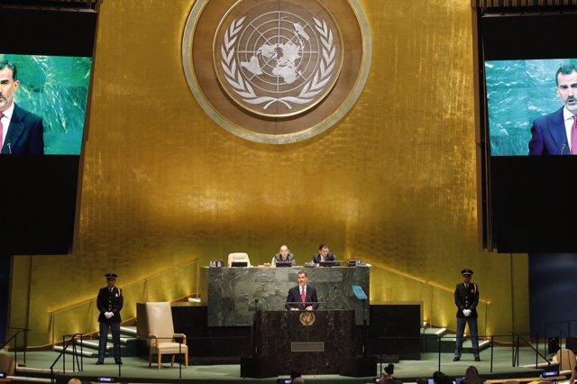 El Rey en la Asamblea General de la ONU