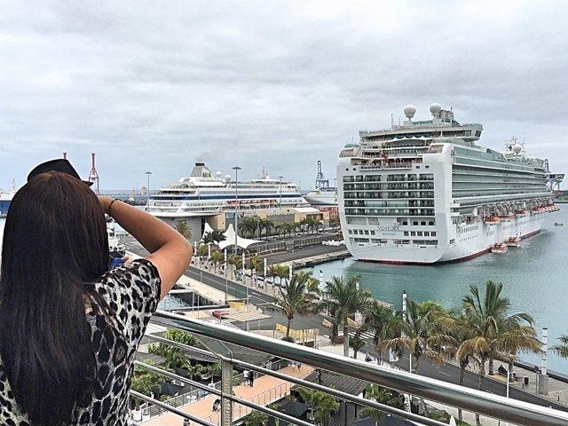 Np Diciembre Arranca En La Capital Con Veinte Escalas De Cruceros En Sus Primer