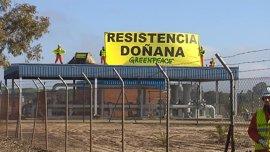 Greenpeace finaliza su protesta ante Gas Natural y lleva 75.000 firmas a Gobierno y Junta