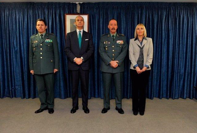 Pablo Martín Alonso, segundo por la derecha, en una foto de archivo