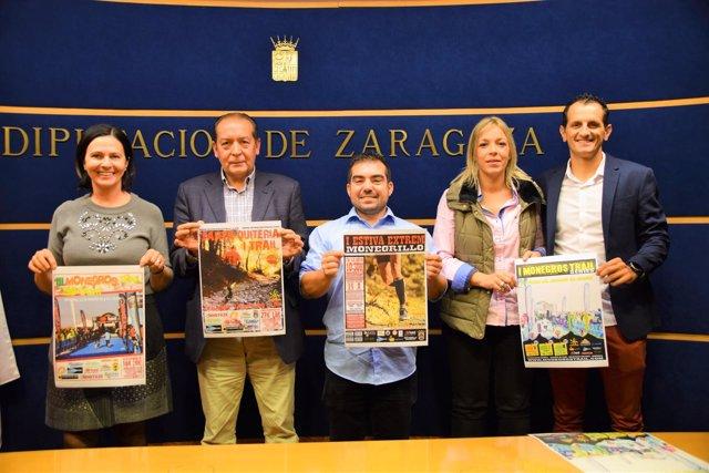 Olga Brosed, Manuel Lamenca, Alejandro Lagunas, Judith Budios y Javier Solanas.