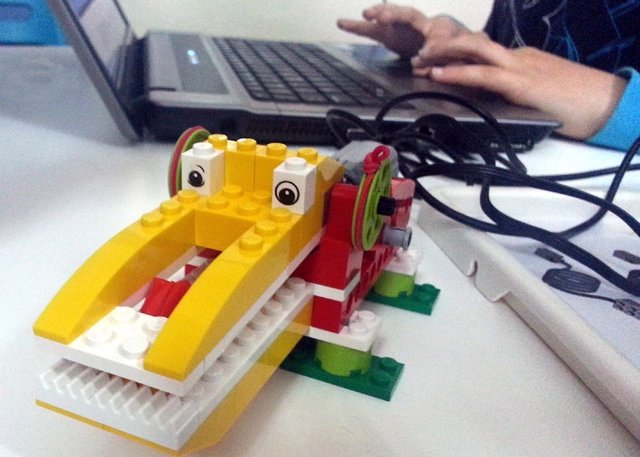 Taller de robótica LEGO