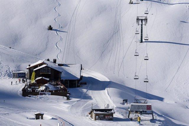 Vallnord, esquí, invierno, Andorra