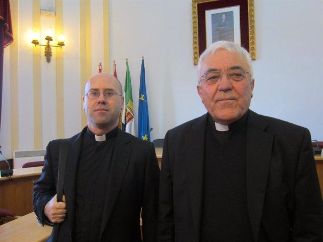 Representantes del arzobispado Mérida-Badajoz