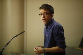 Errejón admite que preferiría que Espinar cumpliese lo que se votó en Madrid sobre acumulación de cargos