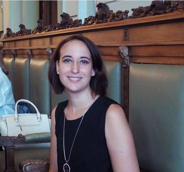 La concejal de Ciudadanos en el Ayuntamiento, Pilar Vicente
