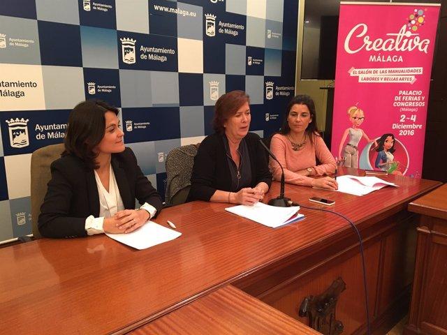 Presentación Creativa en Ayuntamiento Málaga