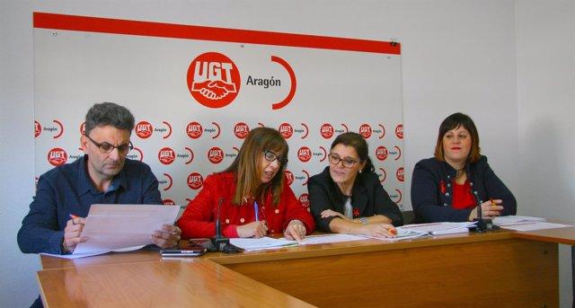 UGT Aragón porpone suprimir la tasa de reposición de los PGE.
