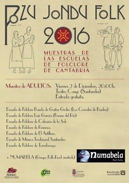 Cartel del festival Pozu Jondu