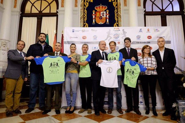 MAratón Málaga 2016 prueba nacional internacional abel antón fiz alcalde